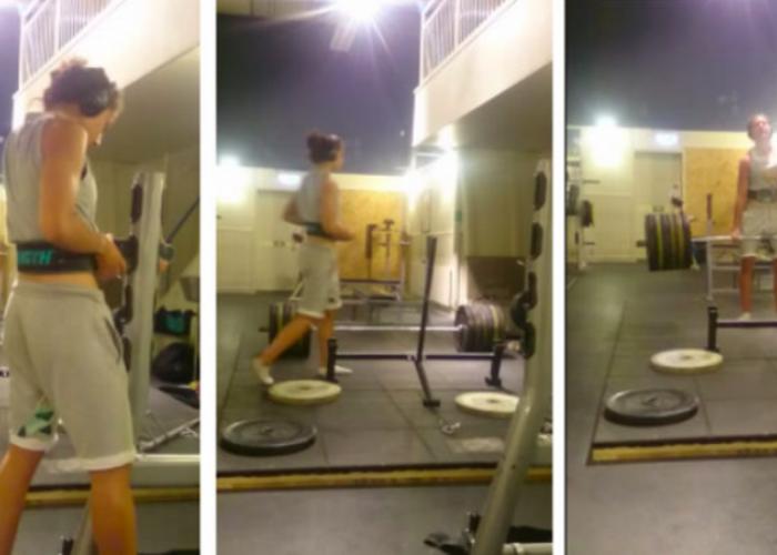 Esti indeajuns de barbat? :) O fata de 16 ani e mai puternica decat multi dintre cei pe care ii vezi in salile de sport: VIDEO
