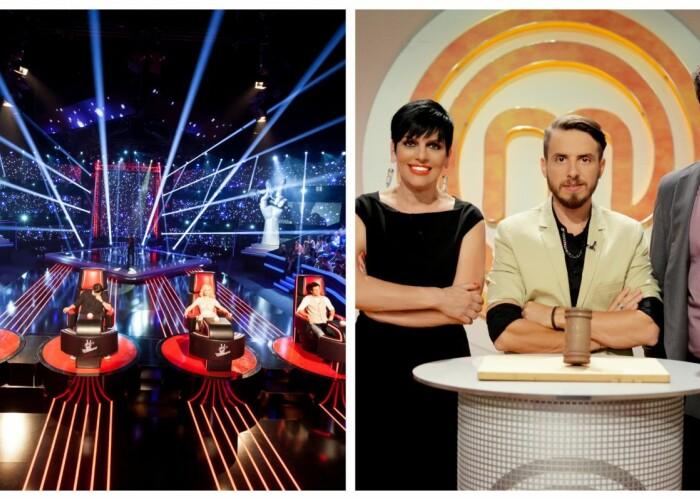Toamna debuteaza in forta la ProTV! Azi, de la 20:30, prima editie MasterChef, iar maine, prima editie Vocea Romaniei