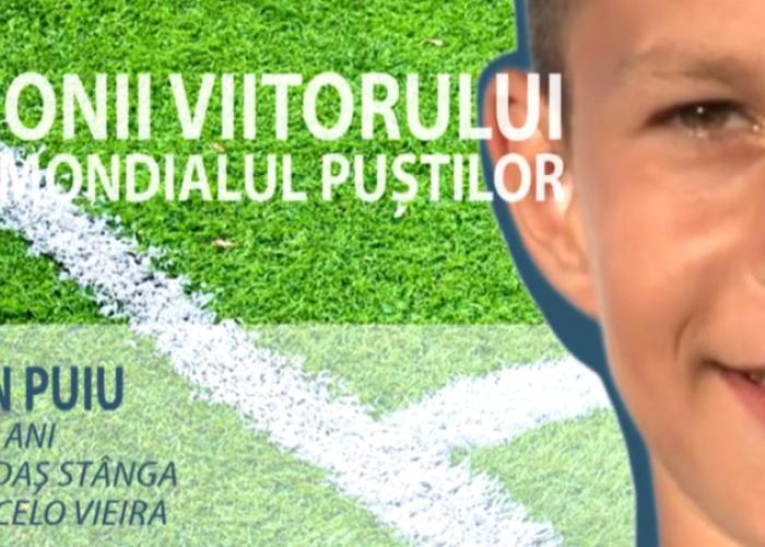 Constelatia celor 12 | Il iubeste pe Marcelo si vrea sa-i calce pe urme lui Rat la nationala: Cred in visul meu de a ajunge un mare fotbalist