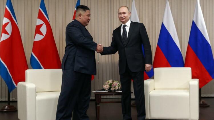 Vadimir Putin și Kim Jong-un s-au întâlnit la Vladivostok