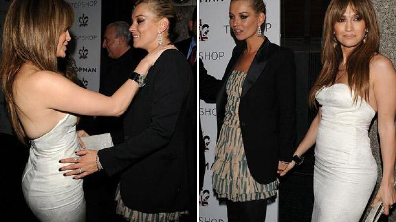 Kate Moss, Jennifer Lopez