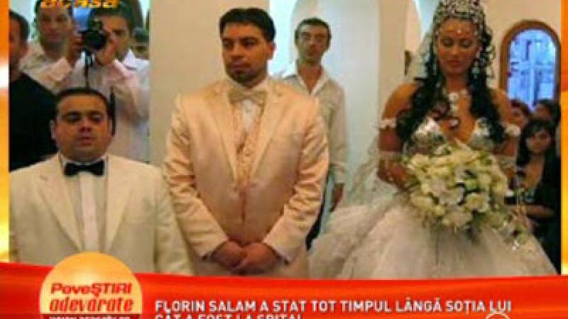 Florin Salam, sotia si nasul Adi Minune