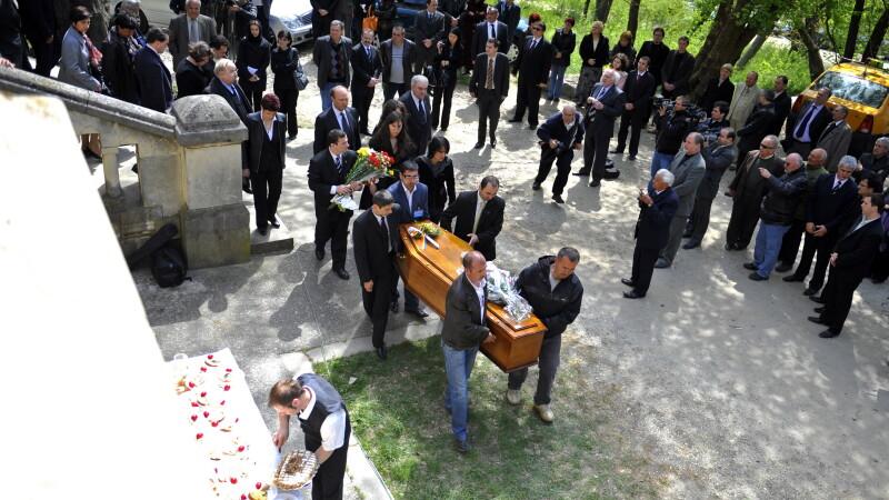 Inmormantare Ioana Bratianu