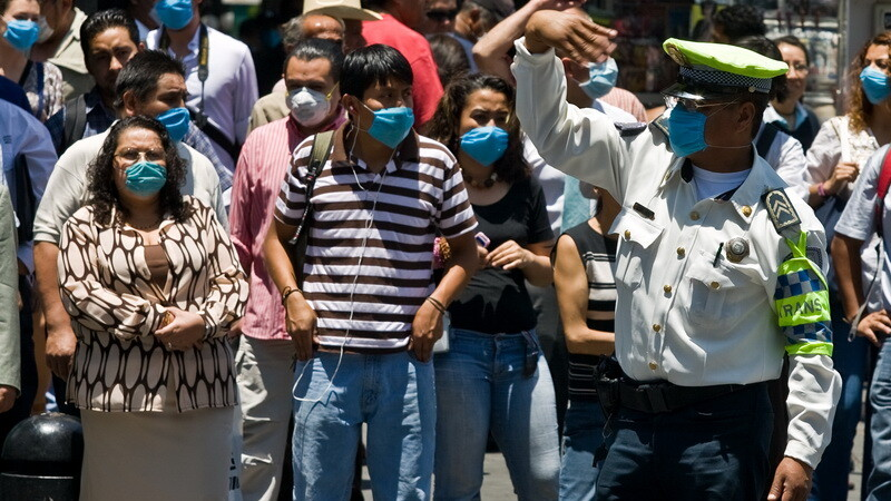 Gripa porcina - Mexic