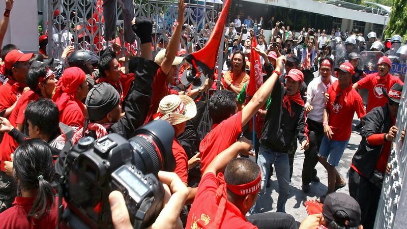 Thailanda proteste