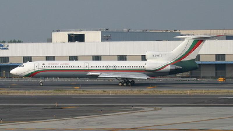 Tupolev 154, Bulgaria