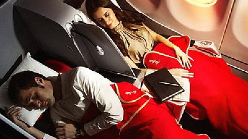 Somn in avion