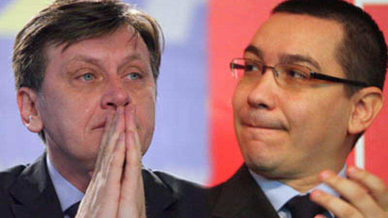 Crin Antonescu/Victor Ponta