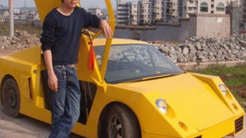 Lamborghini facut acasa