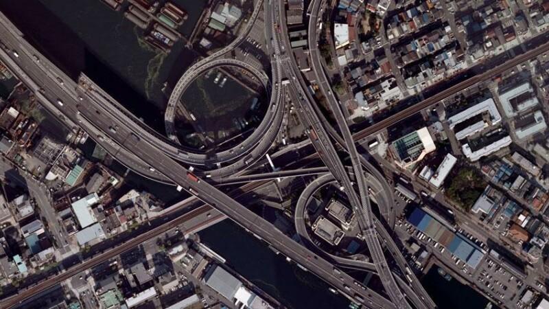 Cele mai spectaculoase noduri rutiere si intersectii din lume. GALERIE FOTO
