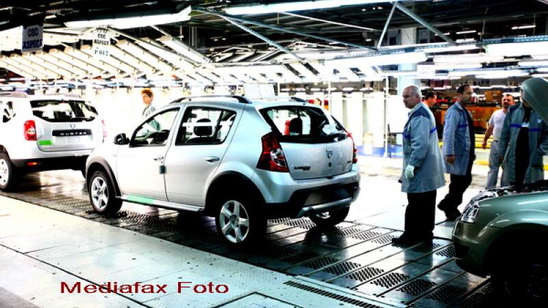 Linie de asamblare Dacia