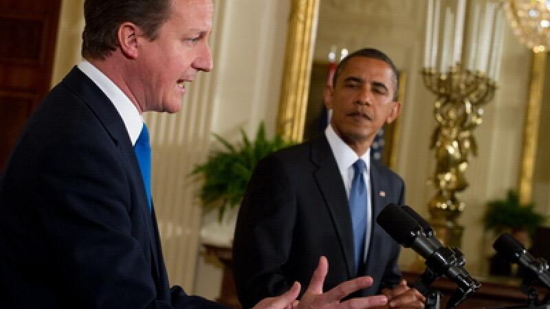 David Cameron si Barack Obama