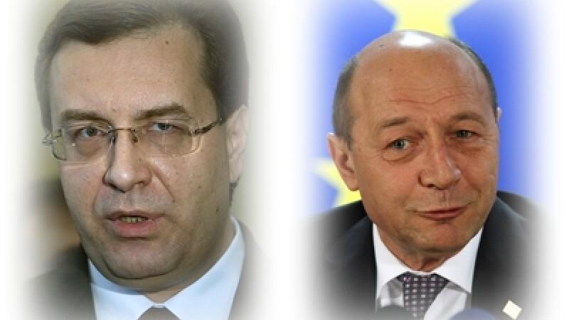 Marian Lupu si Traian Basescu