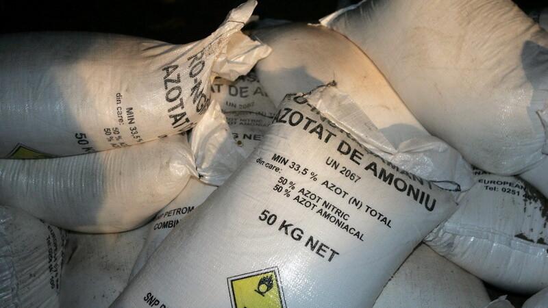 saci cu azotat de amoniu