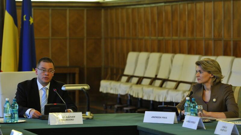 Mesajul lui Ungureanu catre Ponta: