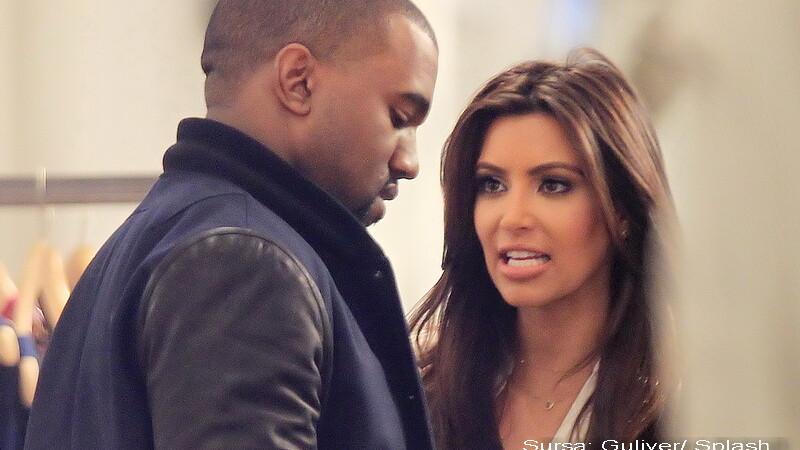 Kanye West si Kim Kardashian