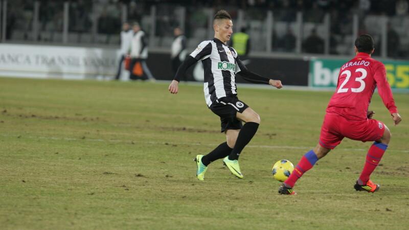Joaca la U, dar e pe urmele lui Ronaldo. Pariul lui Boloni de la Cluj