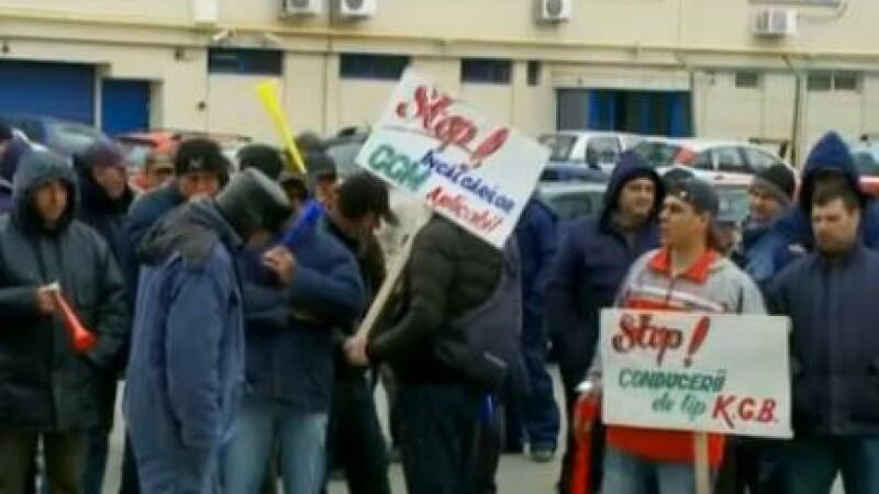 Protest in Portul Constanta. Angajatii, nemultumiti ca platesc taxa ca sa ajunga la locul de munca