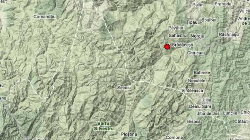 Un cutremur de 3,5 grade s-a produs joi dimineata in Vrancea. INFP: