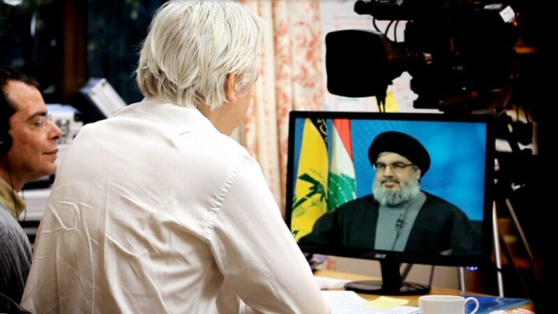 Interviu cu liderul HEZBOLLAH, realizat de Assange din arest.