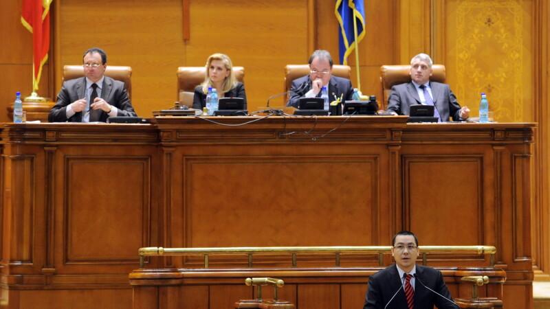 Ponta cauta in tabara adversa 7 voturi pentru motiune.