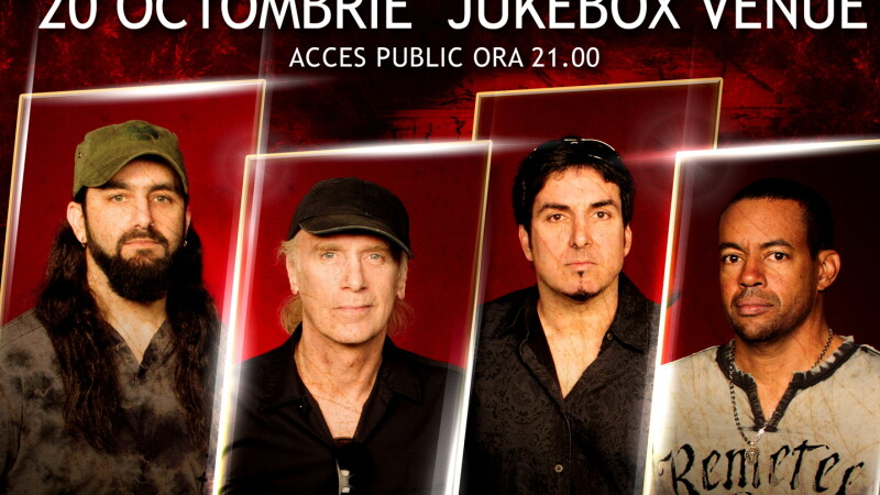 Concertul de rock-progressive al anului in Romania: Mike Portnoy, Billy Sheehan, Tony MacAlpine
