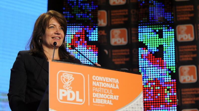 Opozitia preia majoritatea in Senat. Mihaela Popa a trecut de la PDL la PNL