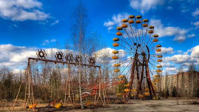 Cernobil, orasul in care nimeni nu se intoarce. Cum arata dupa 26 de ani locul dezastrului FOTO
