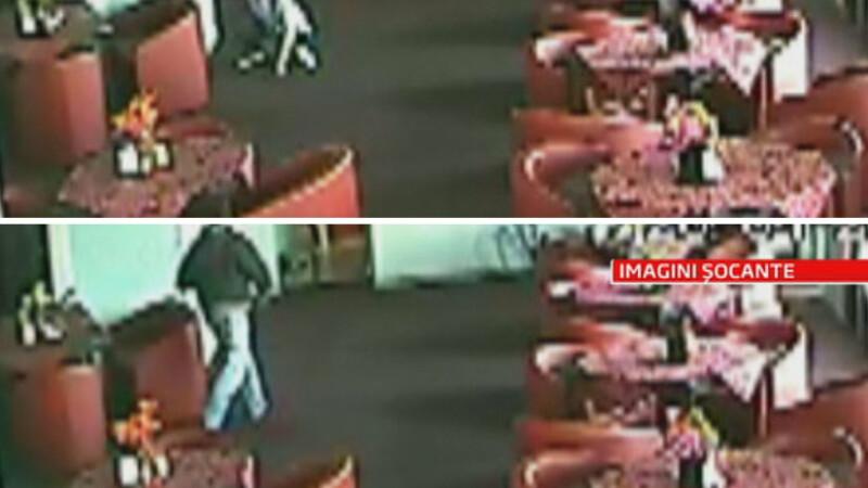 Belmondo Cobzaru,barbatul care si-a injunghiat iubita in fast-food,se ascundea de politie sub un pat