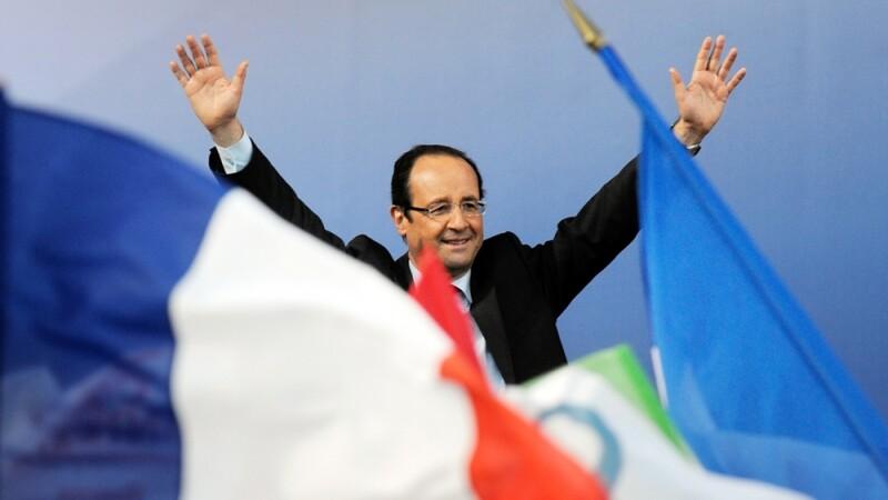 Rezultate alegeri Franta 2012. Hollande, un procent in plus fata de Sarkozy, dupa primul tur
