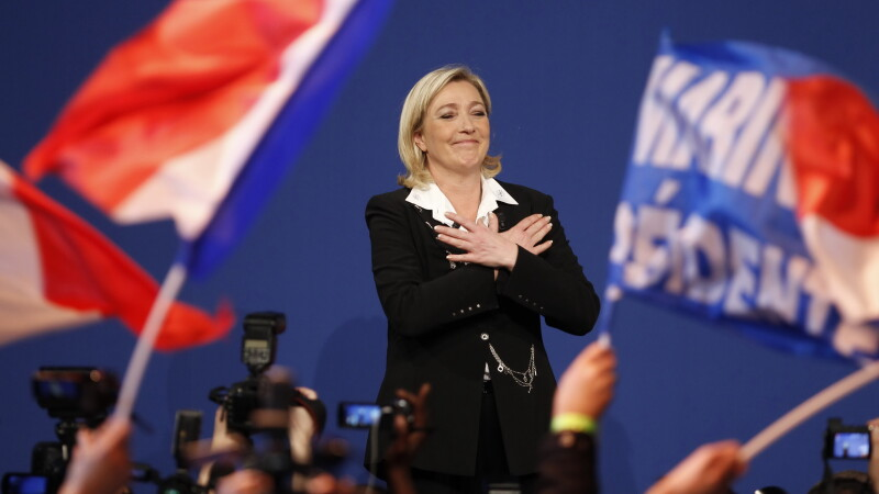 Alegeri 2012. Scor mare obtinut de candidata de extrema dreapta din Franta, Marine Le Pen