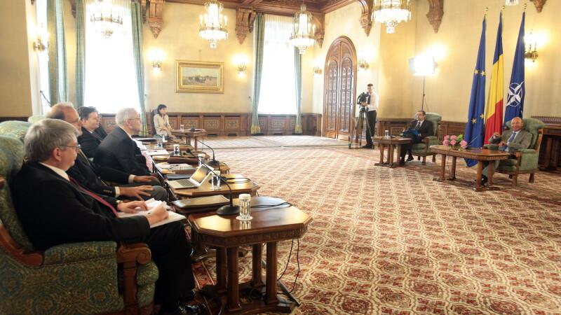 Basescu, delegatiei FMI: E greu sa ramanem pe drumul corect in an electoral, dar suntem hotarati