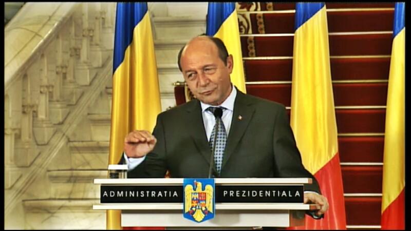 Traian Basescu: Victor Ponta este premierul desemnat sa faca Guvernul