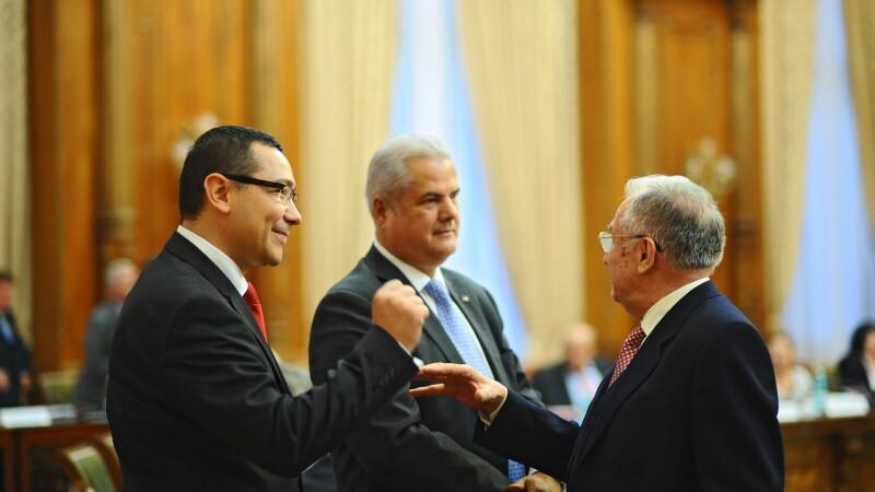 Victor Ponta: Lista ministrilor va fi facuta publica in 1 mai