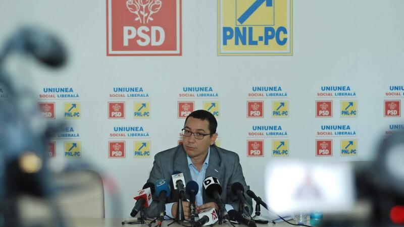 Victor Ponta: Incepand de marti voi discuta cu grupurile parlamentare pentru sustinerea Guvernului