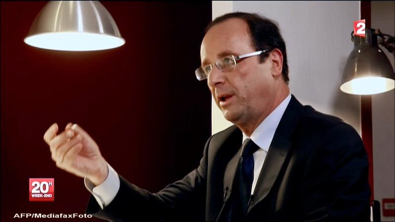 Sondaj: Hollande pierde un punct in fata lui Sarkozy inaintea turului doi al alegerilor din Franta