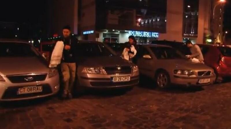 VIDEO. Ce fac politistii ca sa-i convinga pe soferi sa nu mai bea. Au adus Moartea la club