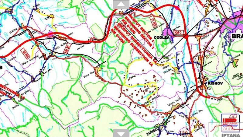 HARTA interactiva Autostrada Transilvania. Drumul