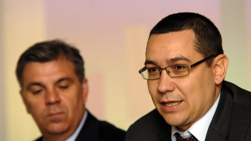 Valeriu Zgonea, Victor Ponta