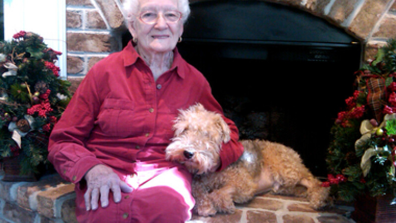 A implinit 101 ani si este cat se poate de activa si sanatoasa. Secretul ei este un meniu neobisnuit