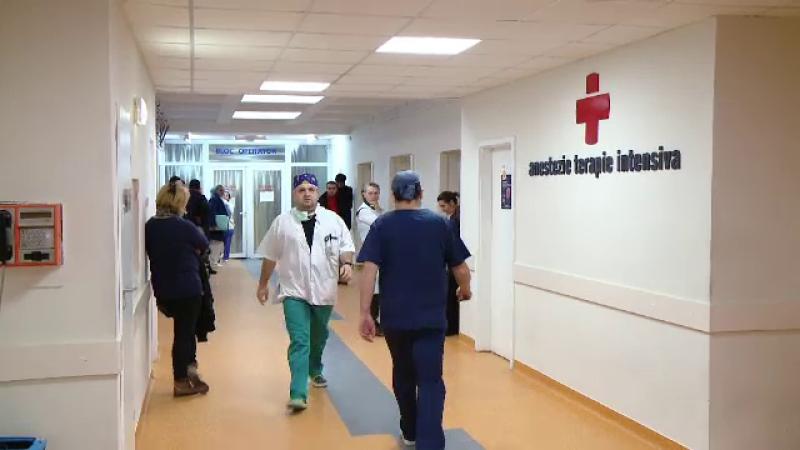 hol spital, terapie intensiva