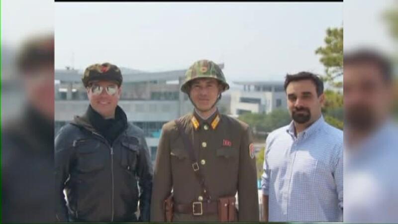 americani in coreea de nord
