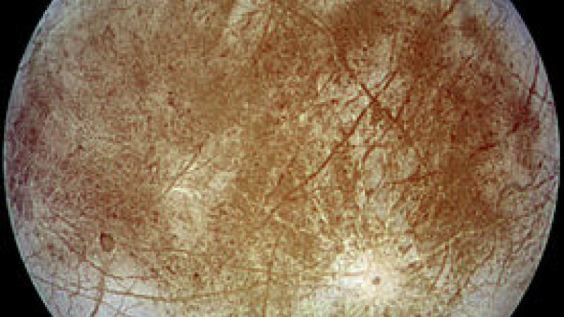 satelitul natural Europa