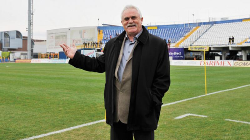 Alexandru Hatfaludi, noul sef al Gloriei - de la volanul tractorului, la carma Bistritei