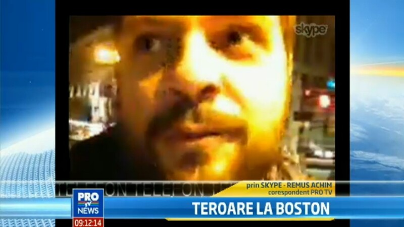 VIDEO. Trimisul special al Stirilor ProTV in Boston, Remus Achim: \