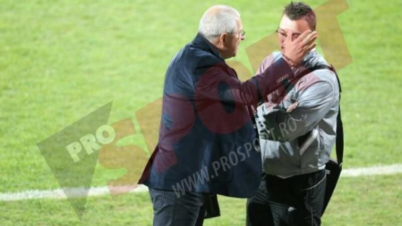 Scene incredibile dupa Gloria - CFR Cluj. Nicolae Manea l-a lovit pe ofiterul de presa al Bistritei