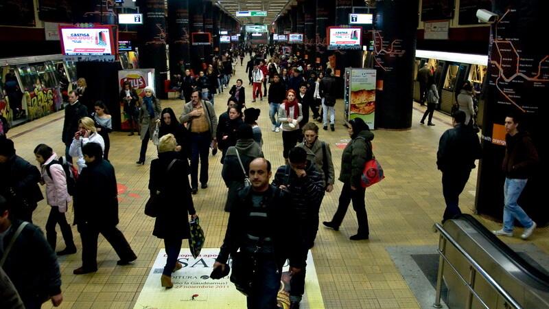 metrou, Piata Unirii