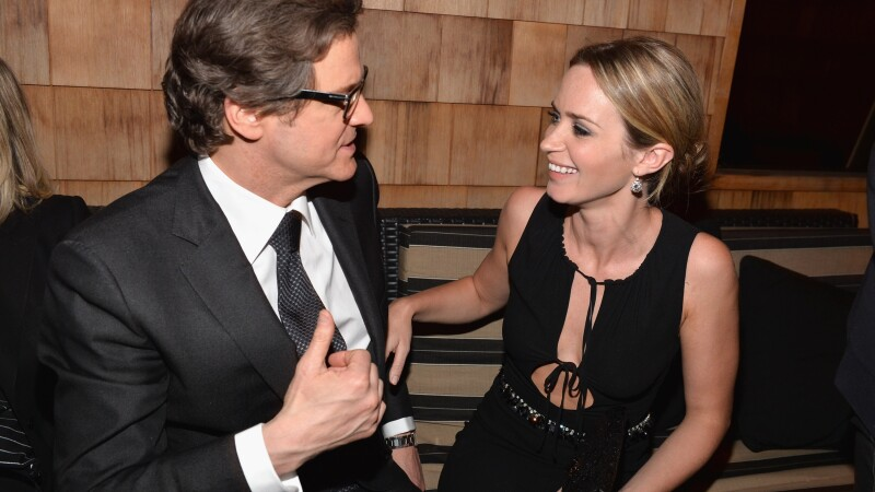 Colin Firth, Emily Blunt