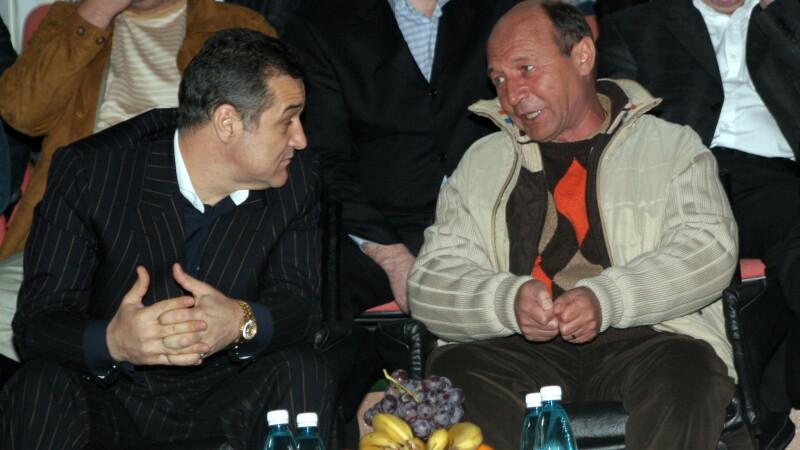 Traian Basescu si George Becali