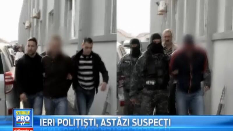 Politistii din Sibiu acuzati de furt calificat, au fost arestati preventiv pentru 30 de zile